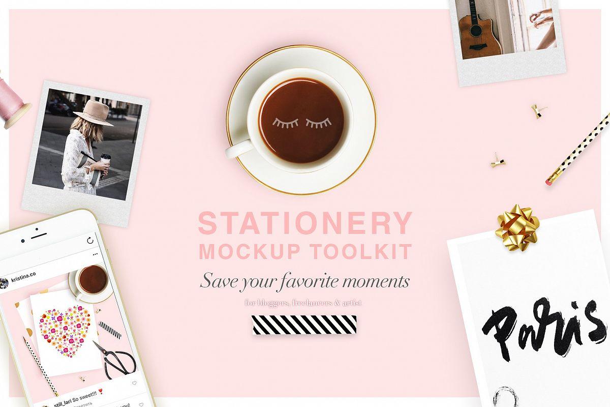 Stationery Toolkit Mockups example image 1