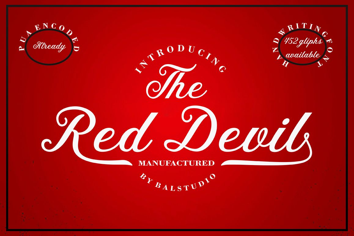 The Red Devil example image 1