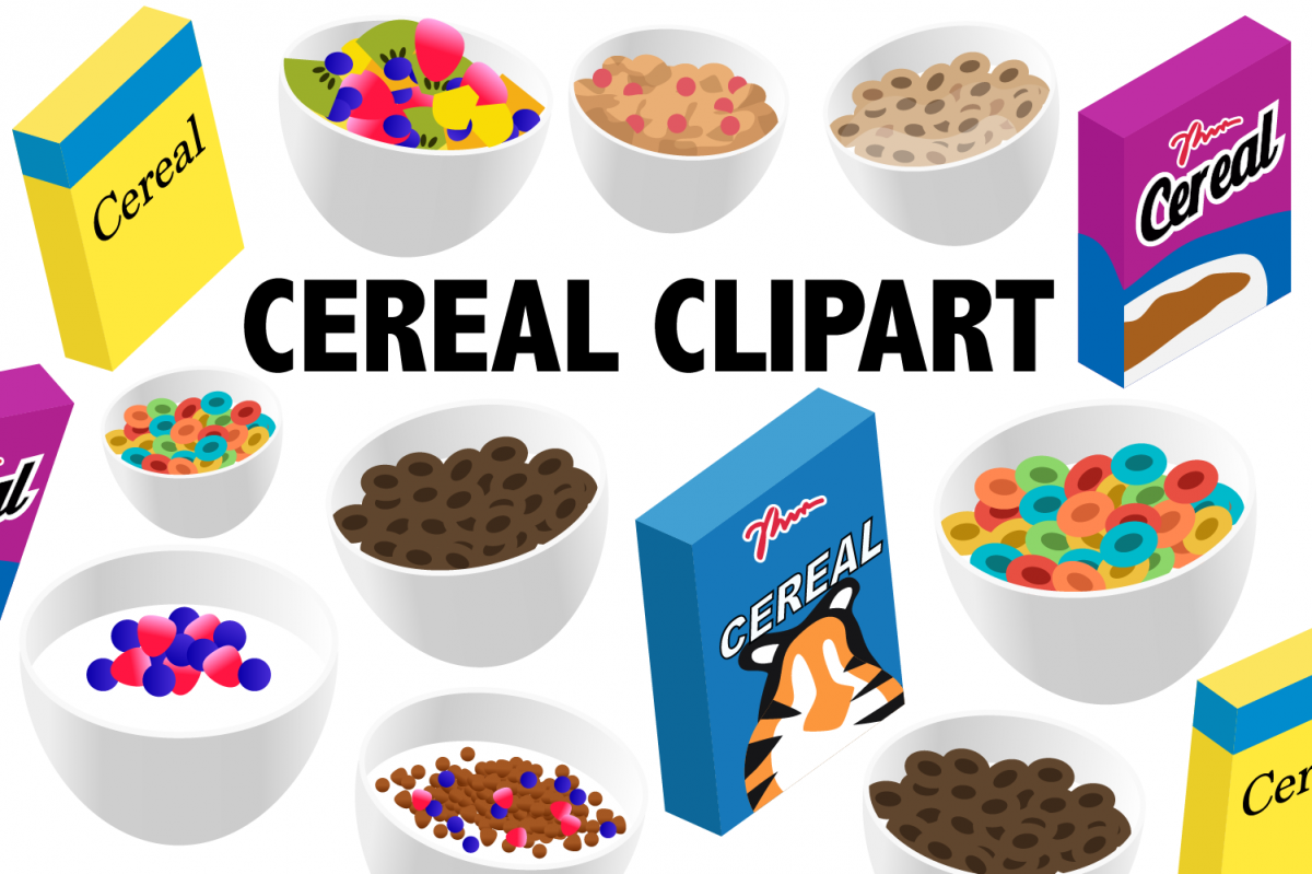 Cereal Clipart example image 1