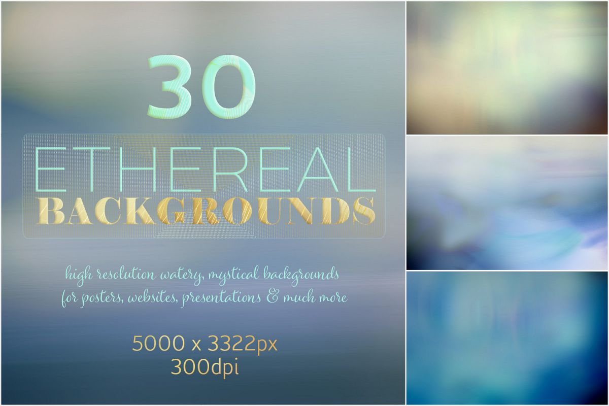 Ethereal Backgrounds example image 1