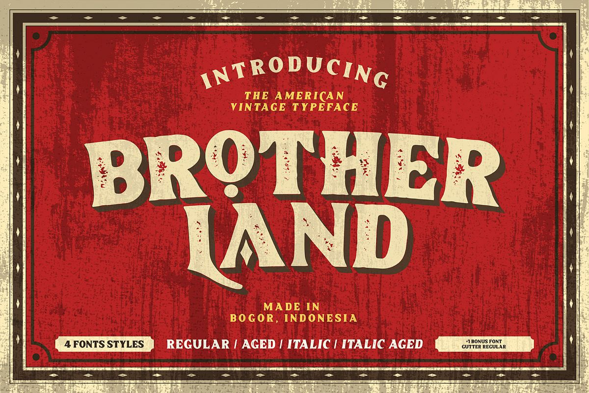 Brotherland - American Vintage example image 1
