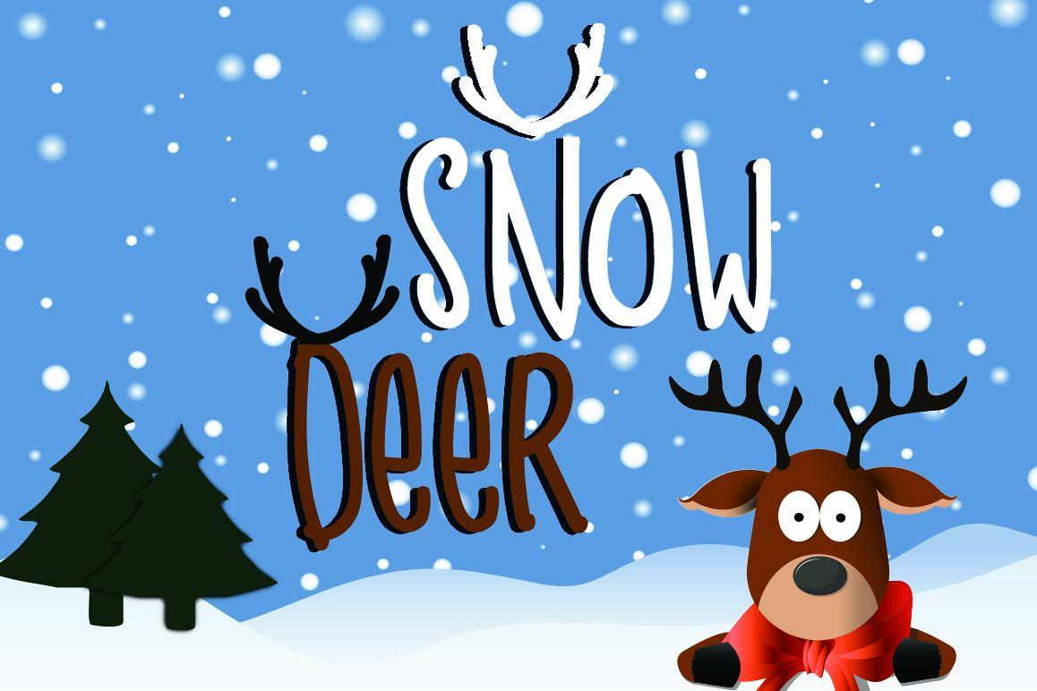 Snow Deer example image 1