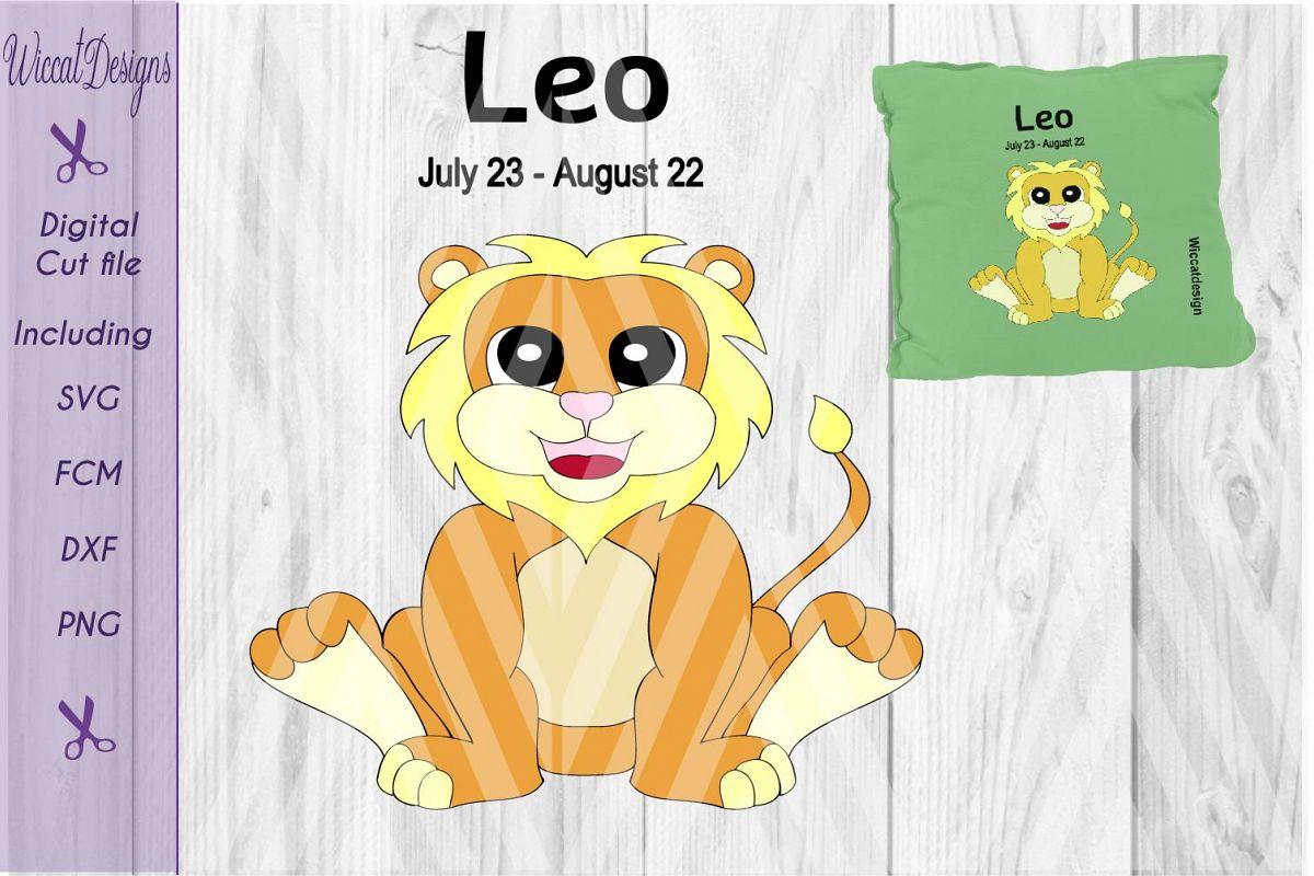 Lion svg, Leo svg, Star sign svg, Zodiac sign svg, example image 1