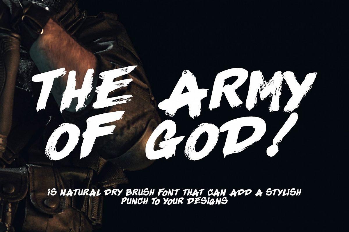 The Army Of God example image 1