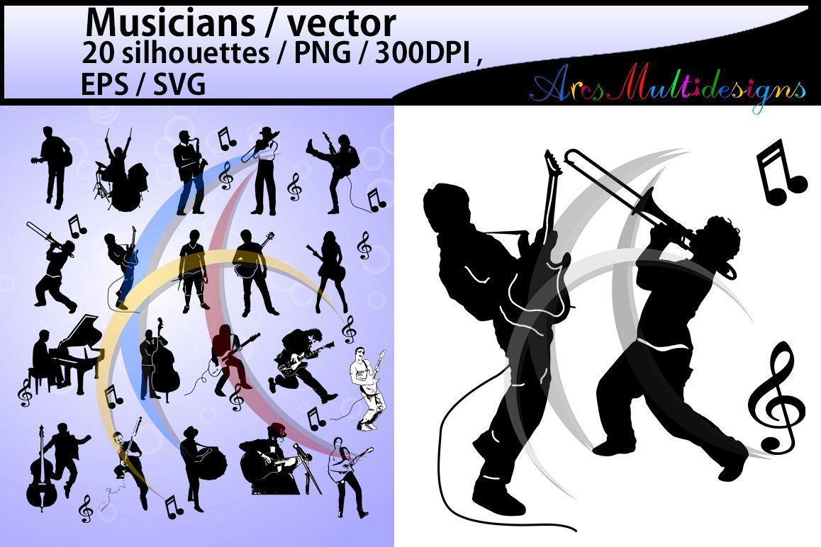 musicians svg musicians silhouette musicians clipart musicians