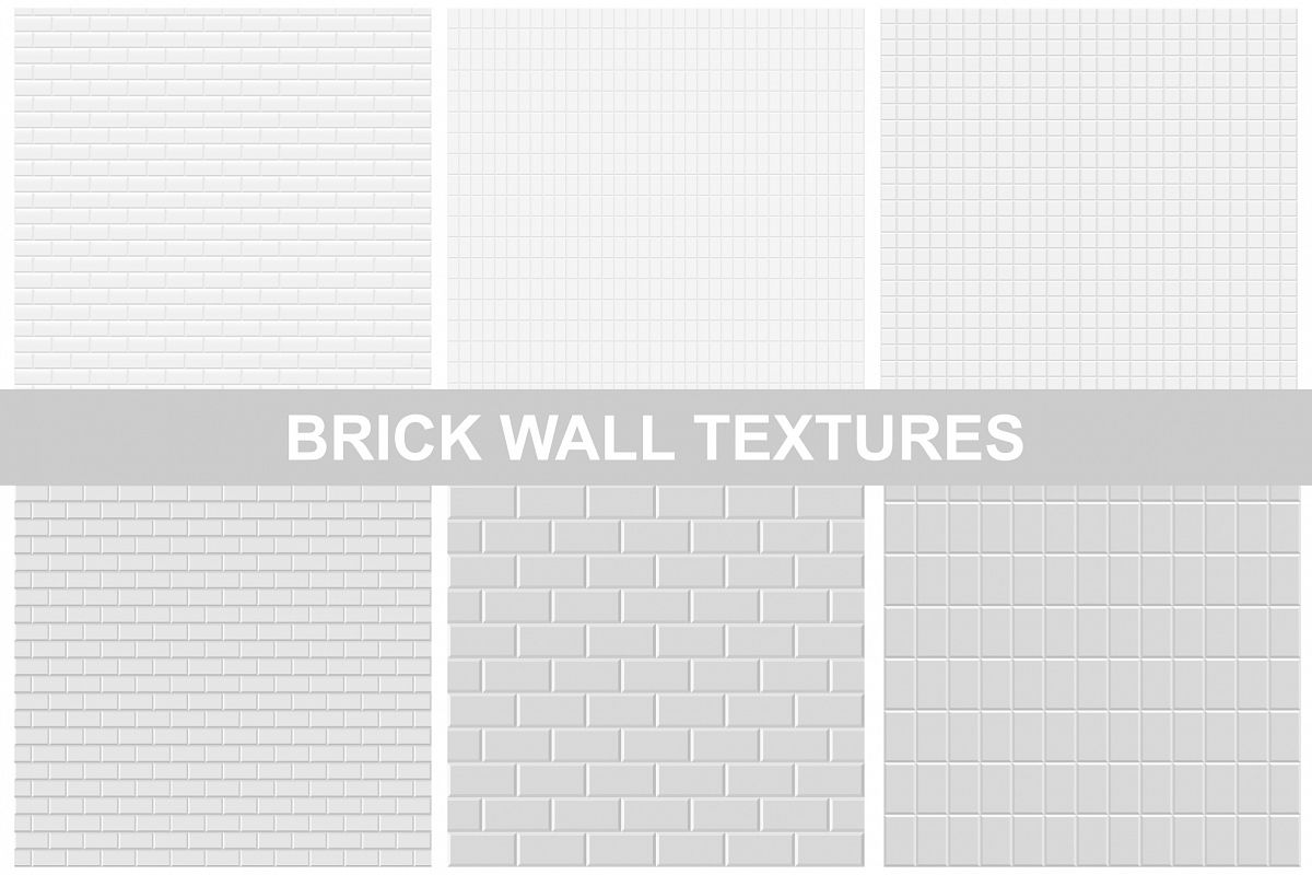Collection of brick seamless texture example image 1