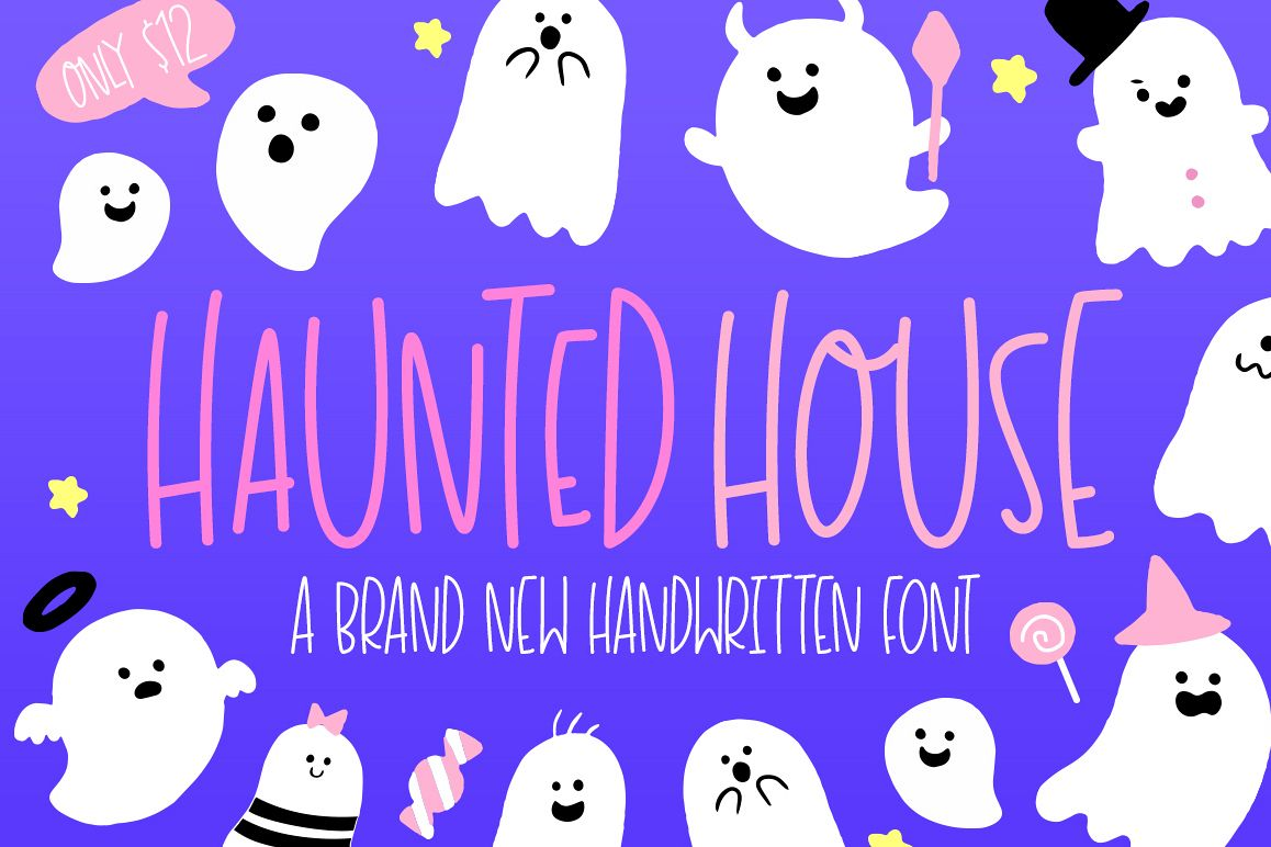 Haunted House Font example image 1