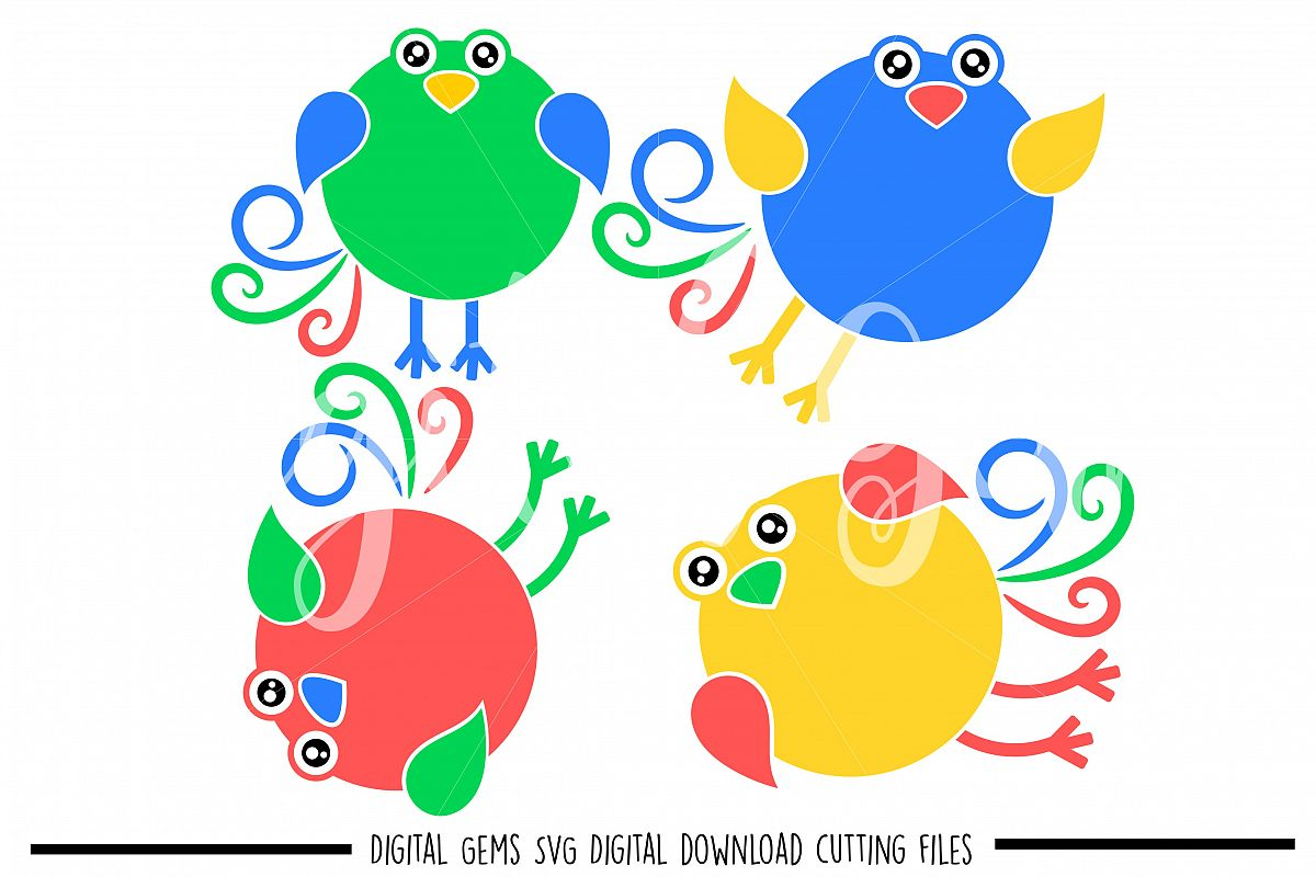 Bird SVG / DXF / EPS / PNG files example image 1