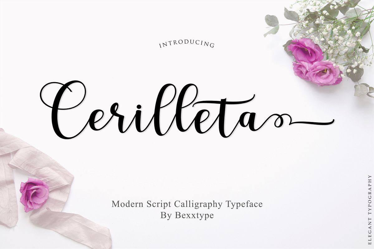 Cerilleta Script example image 1