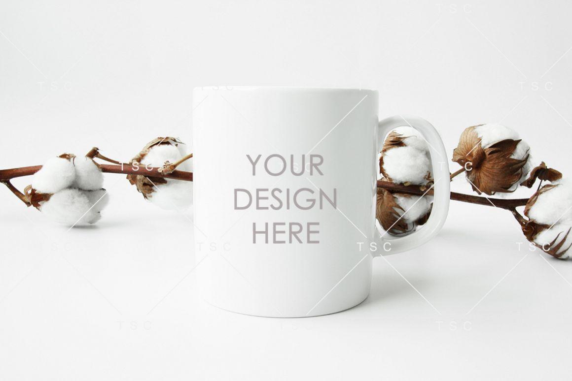 White Mug Mockup / Coffee Mug Mockup example image 1