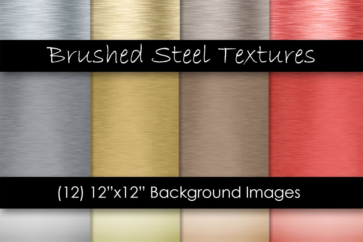 Brushed Steel Metal Textures - Metal Backgrounds example image 1