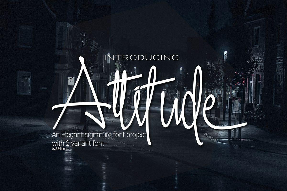 Attitude example image 1