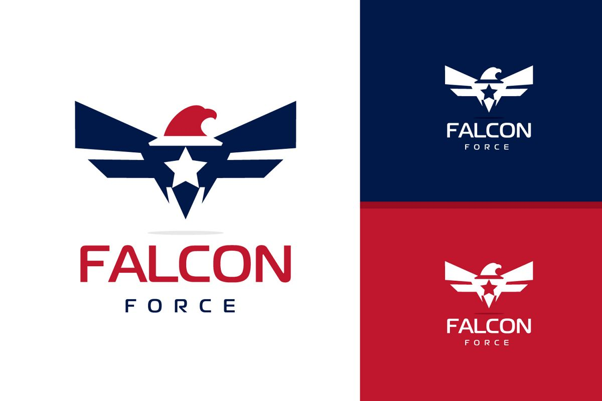 falcon eagle logo design