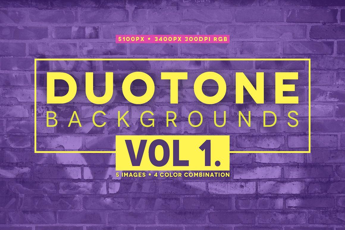 20 Duotone backgrounds example image 1