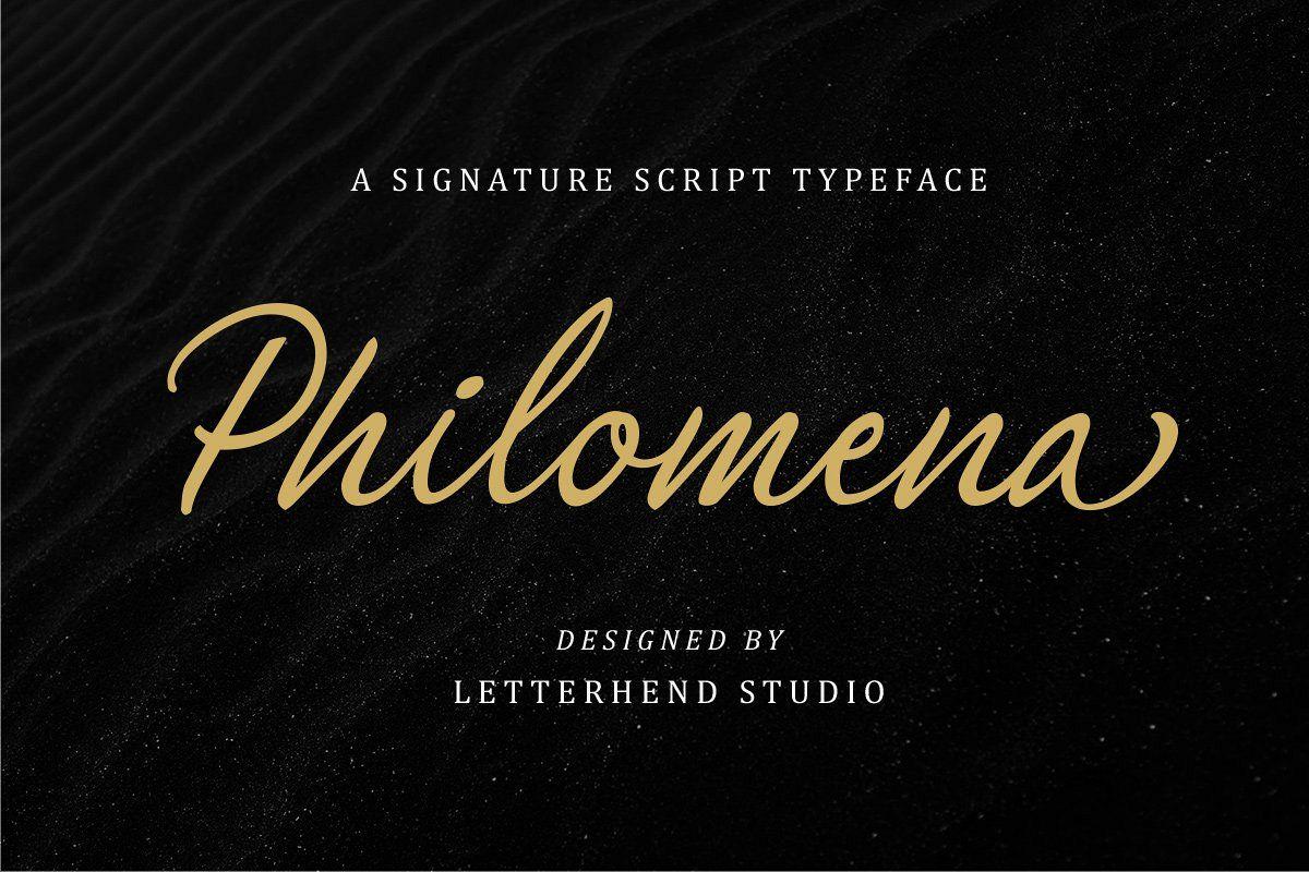 Philomena Signature Script example image 1