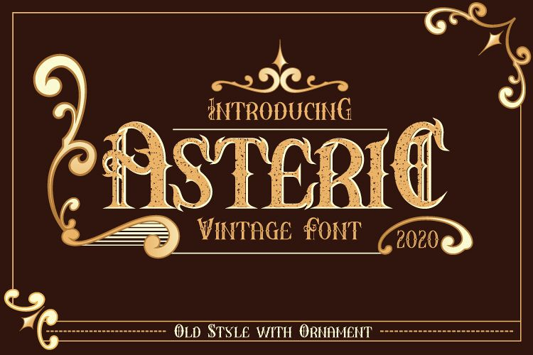 AsteriC Vintage example image 1