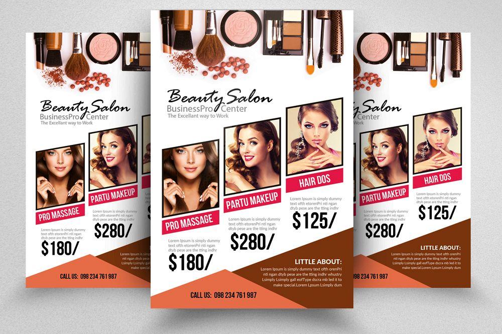 Beauty Salon Flyer Template | Beauty Salon Flyer Template