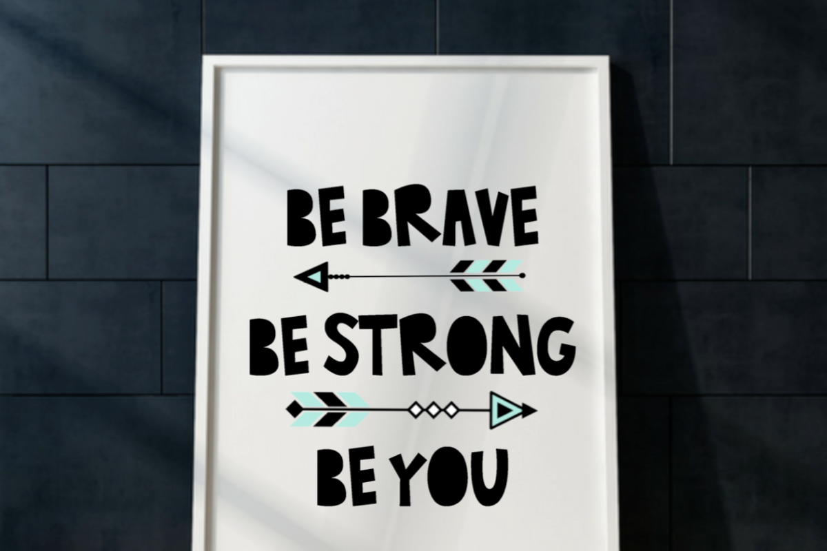 Be Brave Be Strong Be You Tribal Wall Art Print Printable Boy Or Girl Tribal  Bedroom