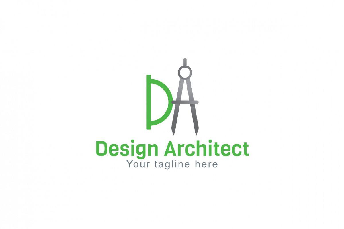 Design Architect - Alphabetic Monogram Stock Logo Template example image 1
