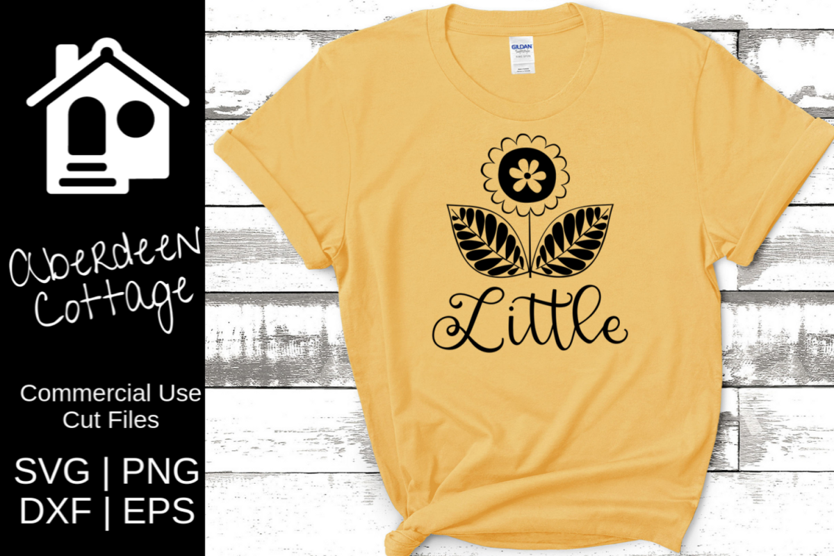 Sunflower Sorority Little SVG example image 1