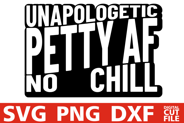Unapologetic Petty Af svg, Black Girl Magic svg, Black Queen example image 1
