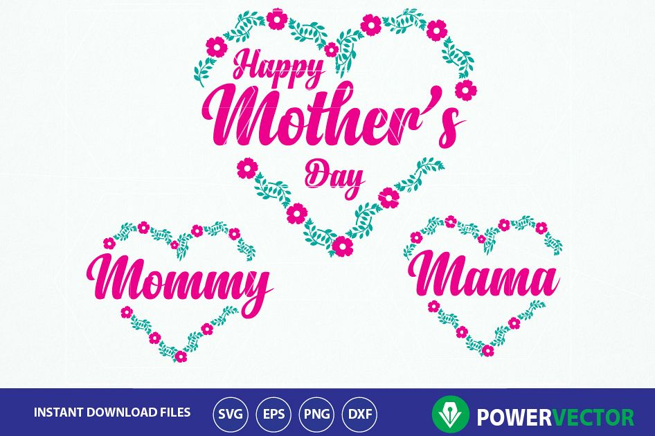 photo relating to Happy Mothers Day Printable called Svg Pleased Moms Working day Print or Slash Report. Moms Working day Svg. Mommy Svg. Mother Svg. Moms working day Floral Design and style. Centre Moms Working day Clipart