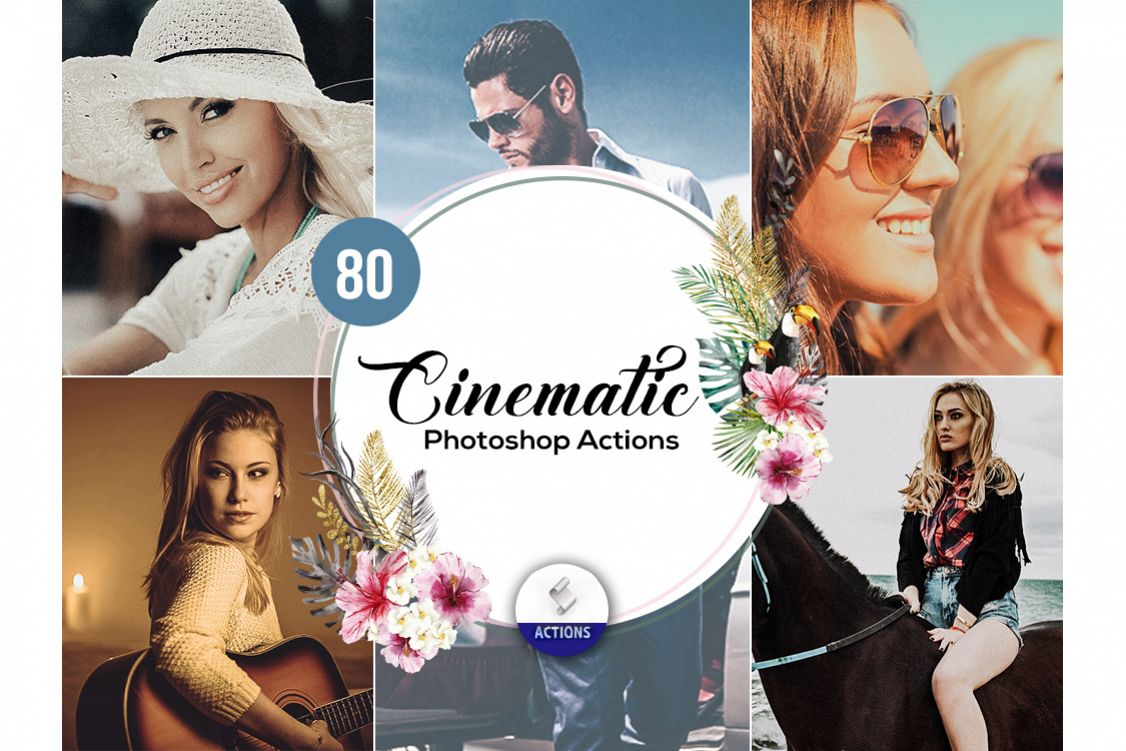 80 Cinematic Photoshop Actions example image 1