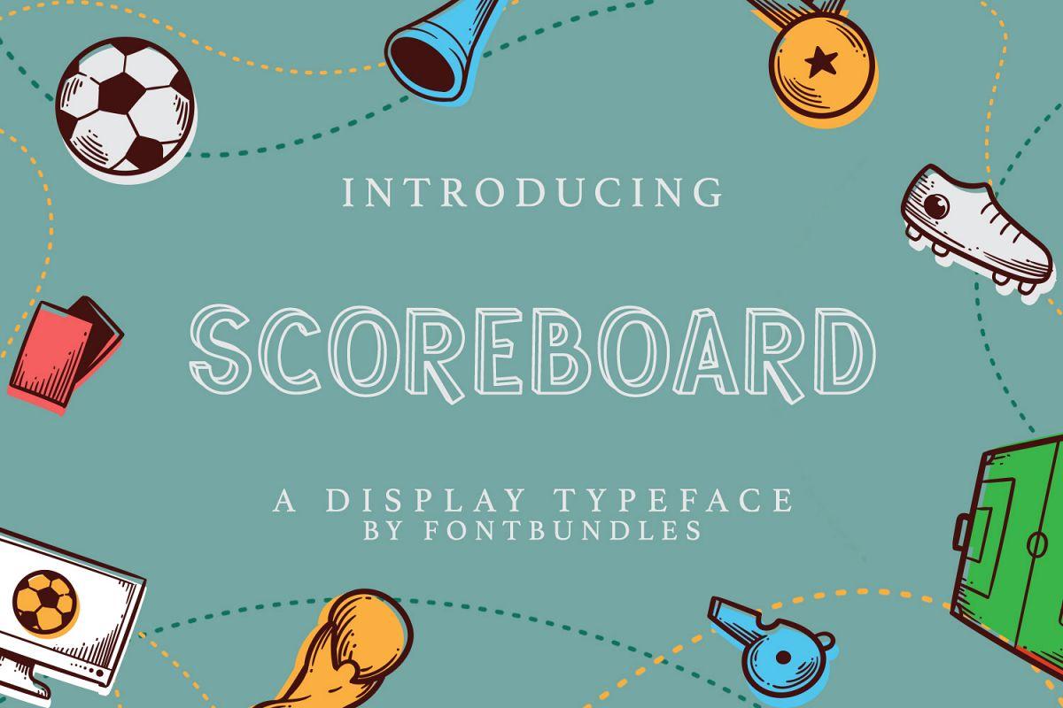 Scoreboard example image 1