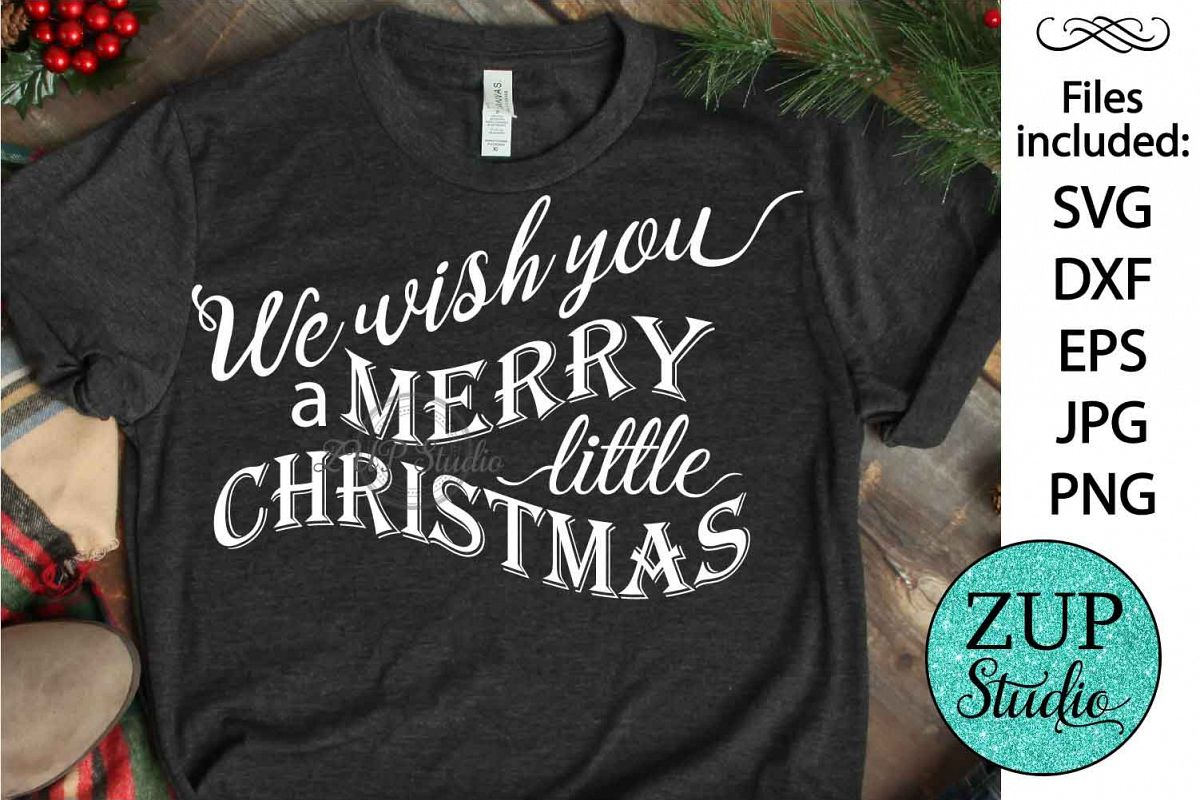 Merry Christmas cutting files svg 28 example image 1