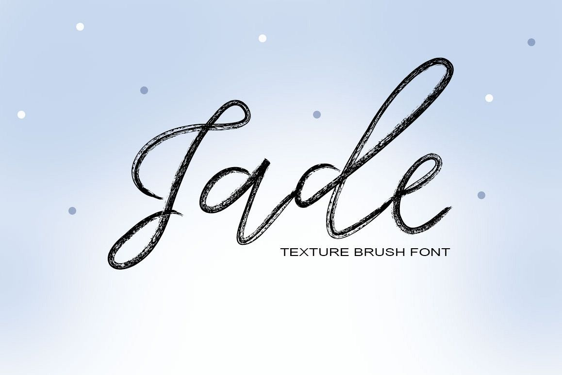 Jade Typeface example image 1