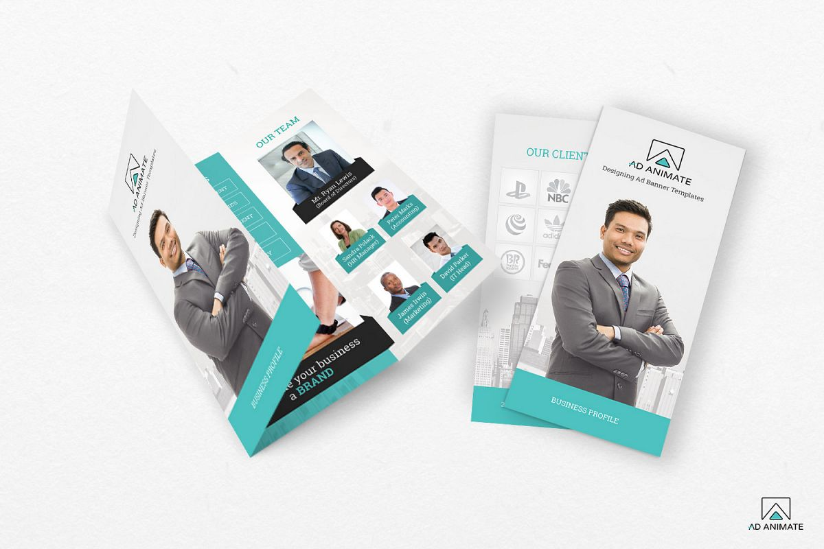 Trifold Business Brochure example image 1