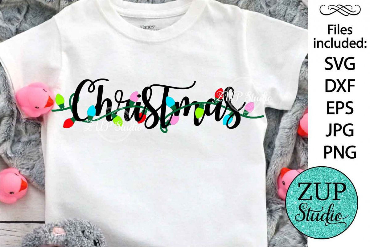 Christmas Word Digital Cutting files file 521 example image 1
