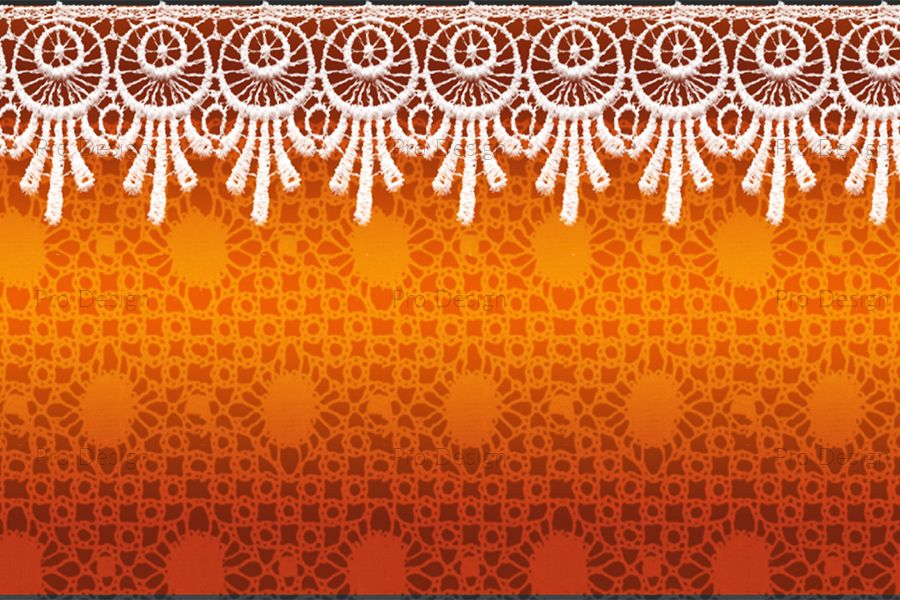 Elegant Lace flowers background example image 1