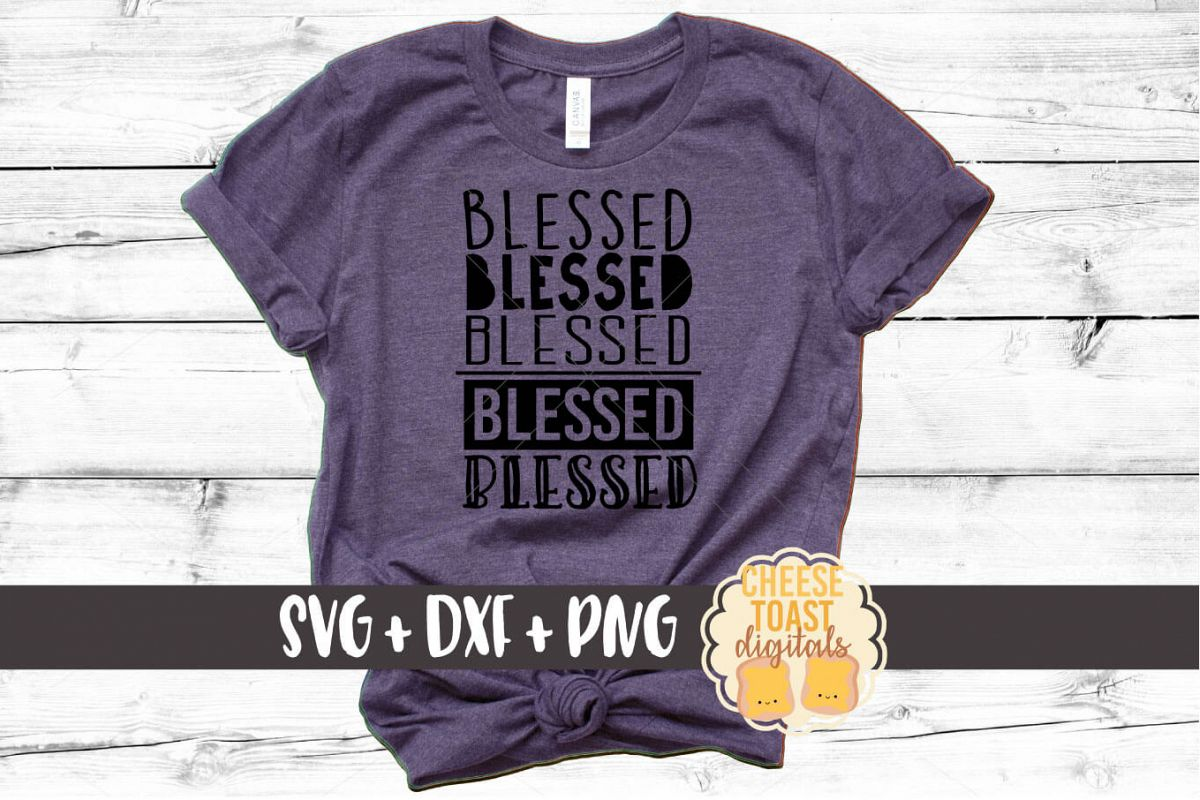 Blessed - Fall SVG File example image 1