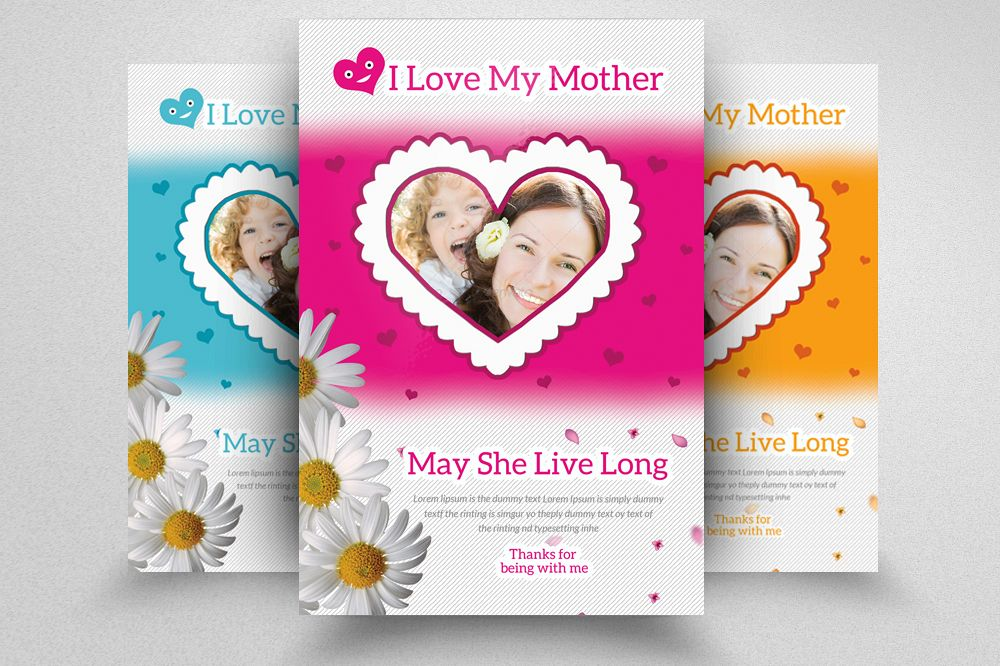 mother s day flyer template