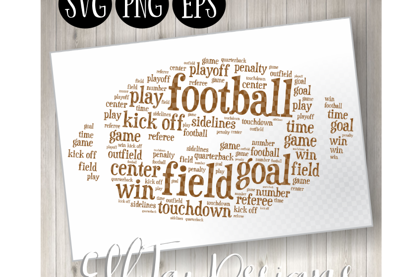 Football Word Art example image 1
