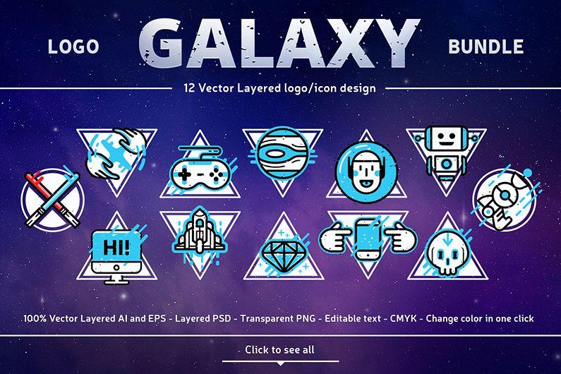 Logo Galaxy Bundle example image 1