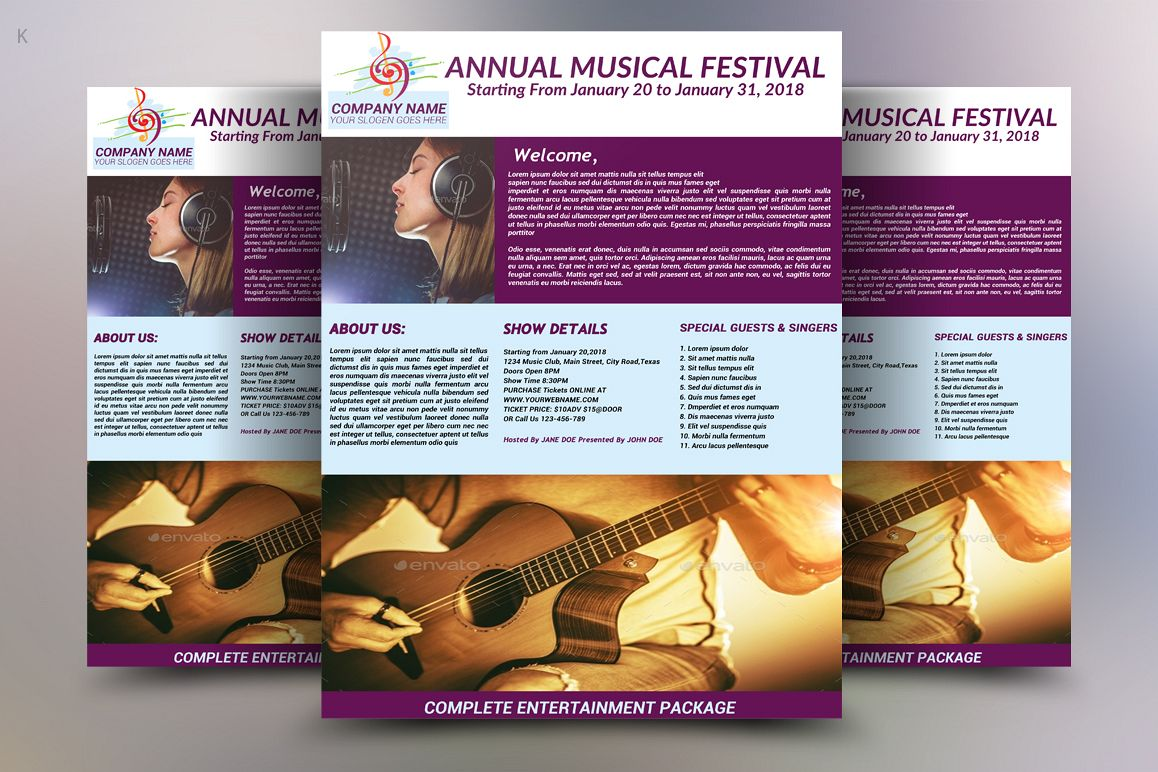 Music Festival Flyer example image 1
