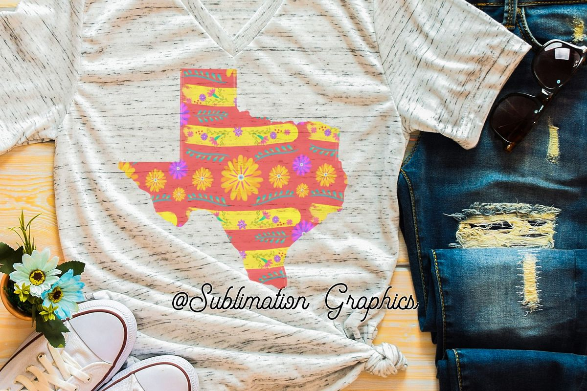 Texas Fiesta Sublimation Digital Download example image 1