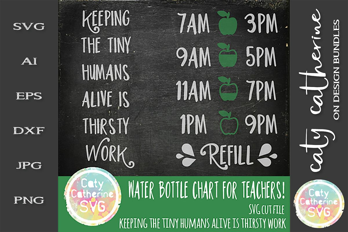 Teacher Keeping The Tiny Humans Alive Is Thirsty Work SVG example image 1