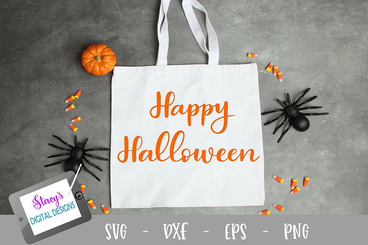Happy Halloween SVG - Halloween SVG file example image 1