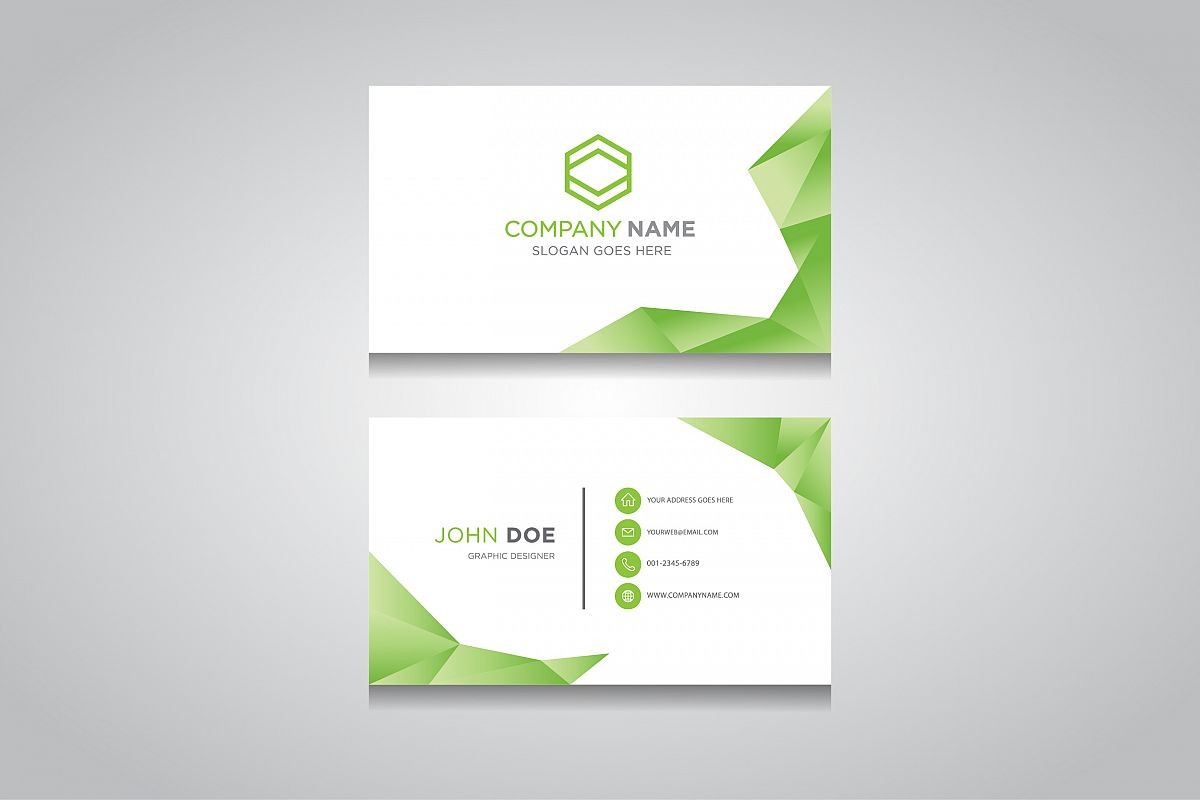Business Card Template Creative Business Card