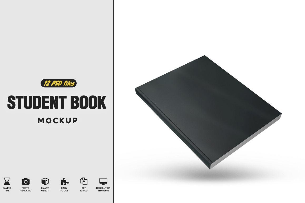 Student Book Mockup example image 1