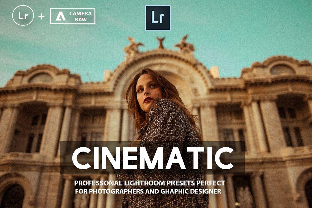 Cinematic Lightroom Presets example image 1