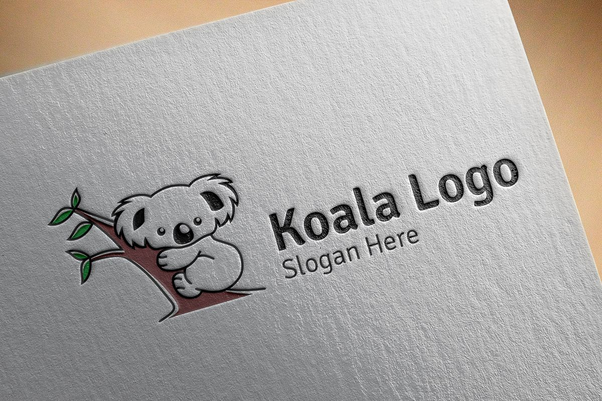 Koala logo example image 1