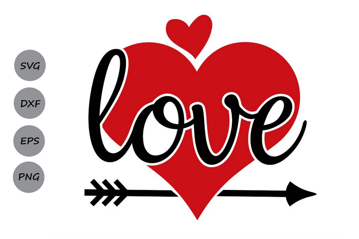 valentines day svg, love svg, heart svg, valentine svg. example image 1