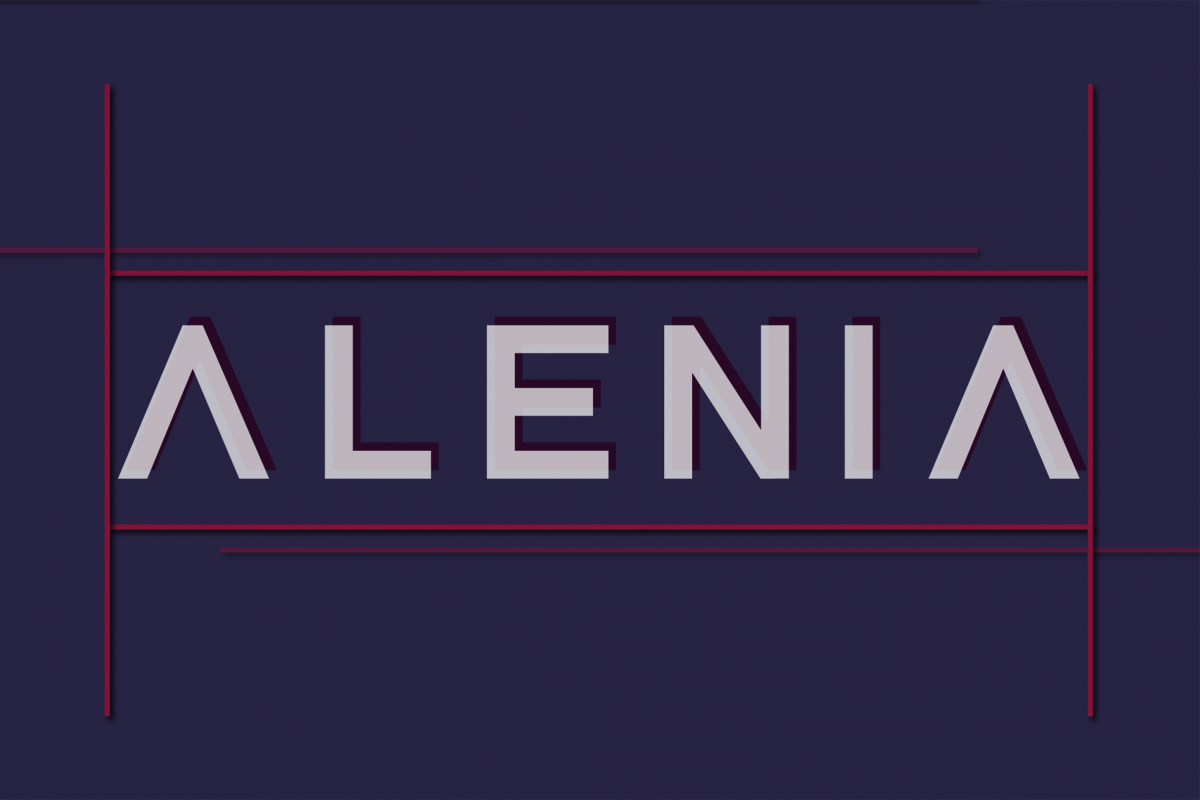 Alenia Display Font example image 1