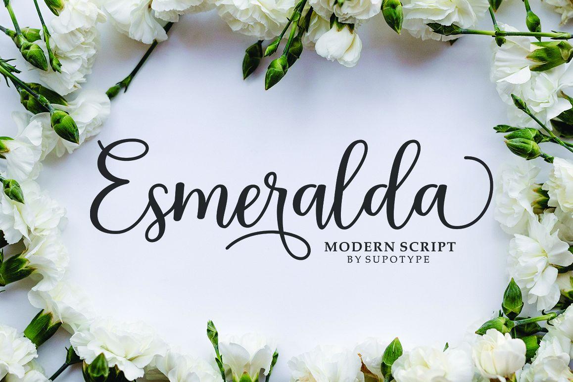 Esmeralda Script example image 1