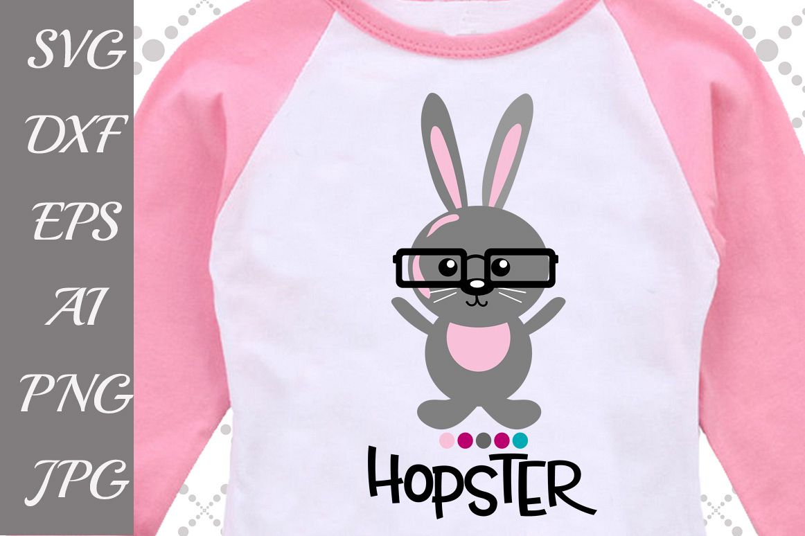 Bunny Hopster Svg example image 1