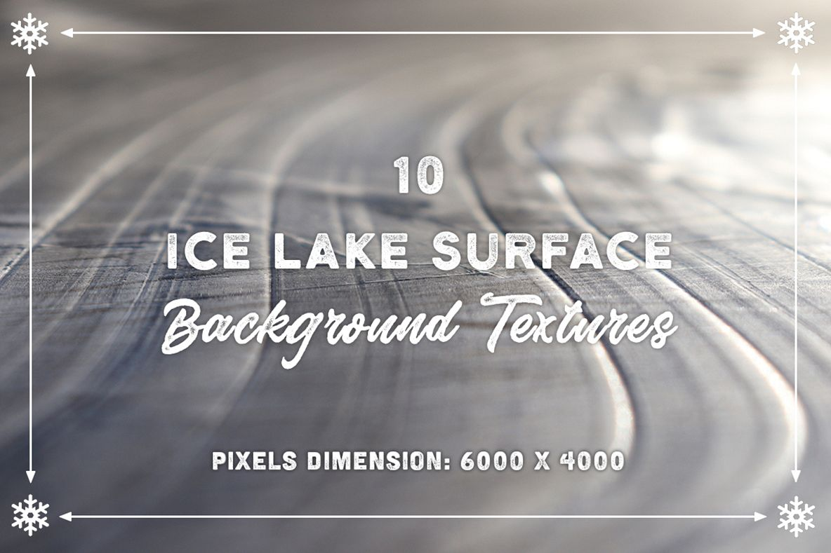 10 Ice Lake Surface Backgrounds example image 1